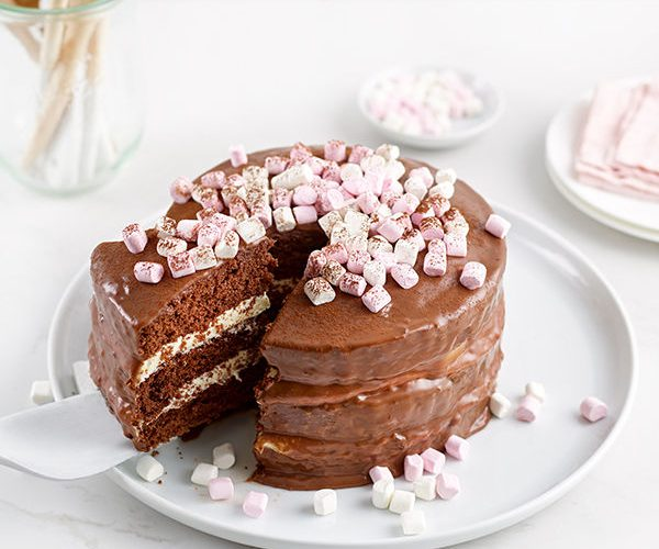 Hot Chocolate Cake By Doves Farm